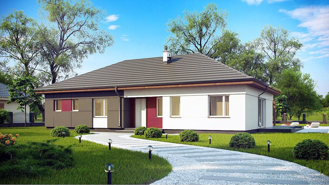 Строительство дома «под ключ» по проекту «Эридан»