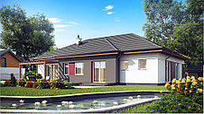 Строительство дома «под ключ» по проекту «Эридан», фото 2