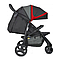 Прогулочная коляска Joie Litetrax 3 Black Chili, фото 4