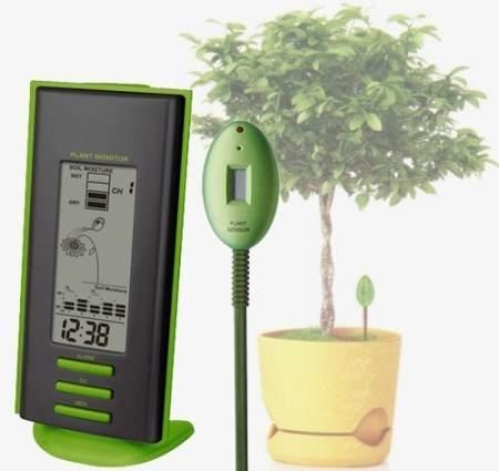 Агрометеостанция UTV-63 Uniel является отличным инструментом для контроля влажности почвы комнатных растений