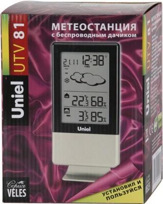 """Метеостанция """"UTV-81G Uniel"""" поставлется в красивой упаковке"""