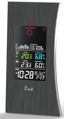 Метеостанция имеет стильный внешний вид и может быть установлена практически в любой комнате вместо часов