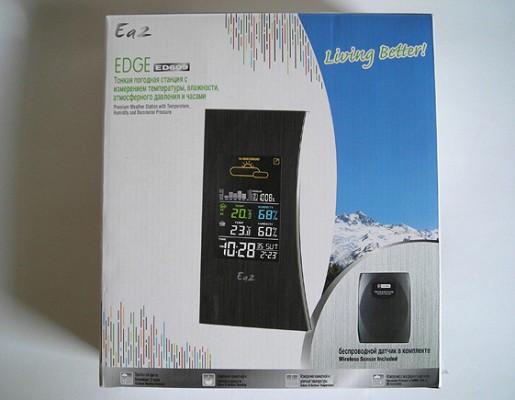 """""""Ea2 ED609 Edge"""" поставляется в красивой коробке"""