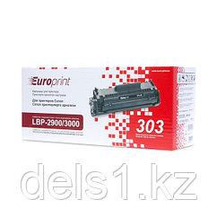 Картридж, Europrint, EPC-303, Для принтеров Canon LBP-2900/3000, 2000 страниц.