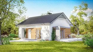 Строительство дома «под ключ» по проекту «Традиционный»