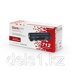 Картридж, Europrint, EPC-712, Для принтеров Canon i-SENSYS LBP-3010/3100, 2000 страниц.