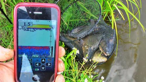 """Результативная ловля рыбы обеспечена, если с Вами на рыбалке эхолот """"Vexilar SONARPHONE SP100"""""""
