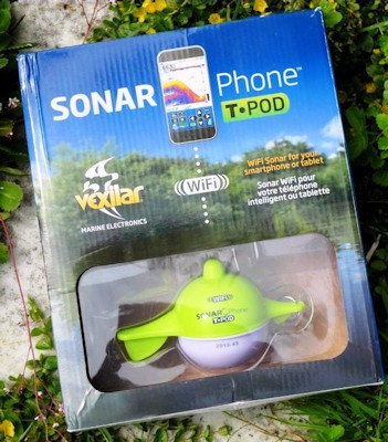 "Эхолот ""Vexilar SONARPHONE SP100"" в упаковке"