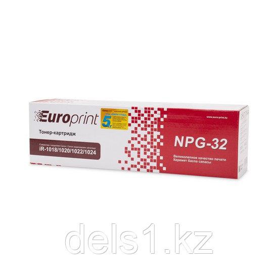 Тонер-картридж, Europrint, NPG-32/C-EXV-18, Для копиров Canon iR-1018/1020/1022/1024, 8400 страниц.
