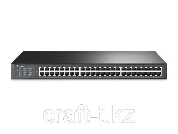 Коммутатор HUB  Tp-Link  48 порта 10/100Mbit ЖЕЛЕЗНЫЙ  TL-SF1048