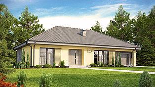 Строительство дома «под ключ» по проекту «Илиана»