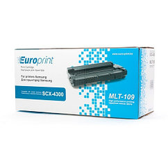 Картридж, Europrint, EPC-MLT109, Для принтеров Samsung SCX-4300, 2000 страниц.