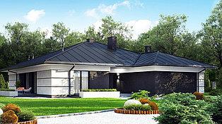 Строительство дома «под ключ» по проекту «Октант»