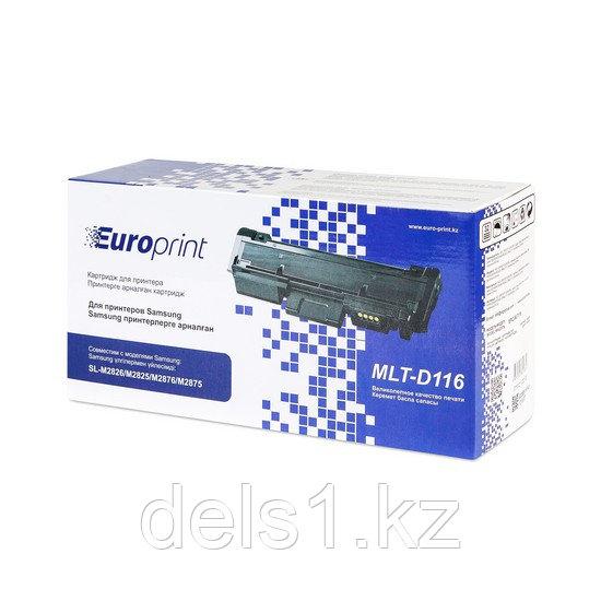 Картридж, Europrint, EPC-MLT116, Для принтеров Samsung SL-M2826/M2825/M2876/M2875, 1200 страниц.