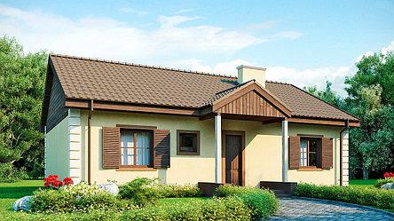 Строительство дома «под ключ» по проекту «Сельская идиллия», фото 2