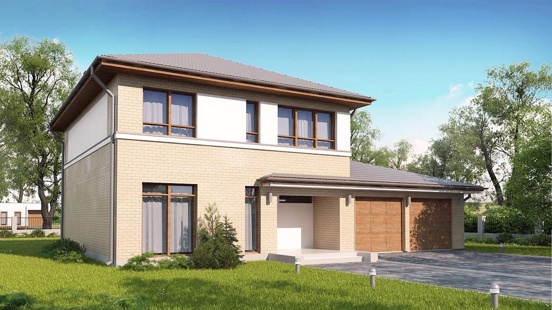 Строительство дома «под ключ» по проекту «Тезей»