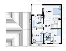 Строительство дома «под ключ» по проекту «Тезей», фото 3
