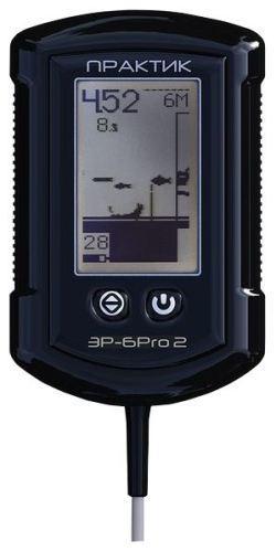 Информативный дисплей прибора показывает всю необходимую информацию, включая рельеф дна, глубину и расположение рыбы