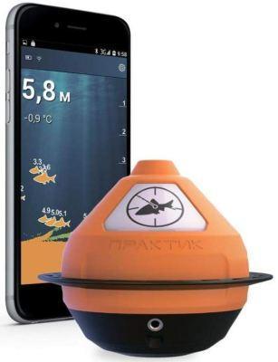 Устройство передает детальное изображение на смартфон