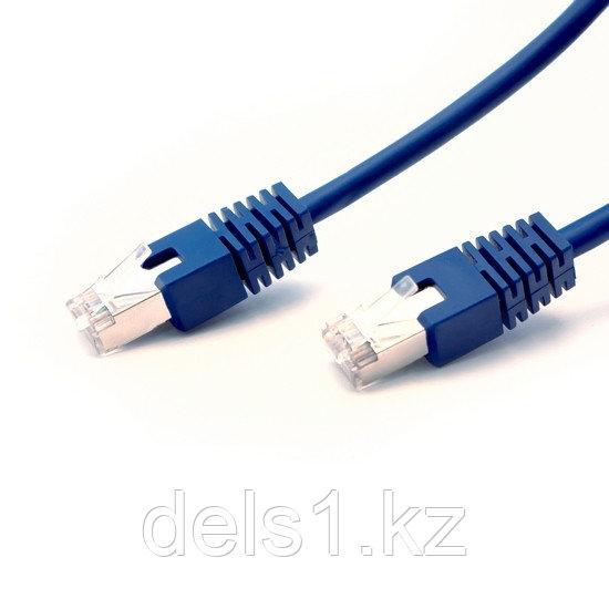 Патч Корд, SHIP, S4025BL0100-P, Cat.5e, FTP, LSZH, RJ-45, 1 м, Синий, Экранированный, Пол. пакет