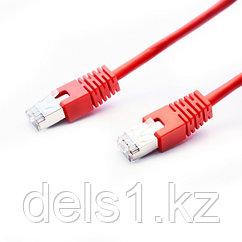 Патч Корд, SHIP, S4025RD0100-P, Cat.5e, FTP, LSZH, RJ-45, 1 м, Красный, Экранированный, Пол. пакет
