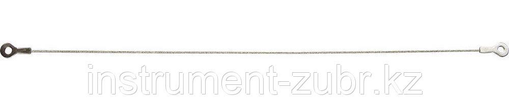 Струна ЗУБР с алмазным напылением, P 60, 300мм