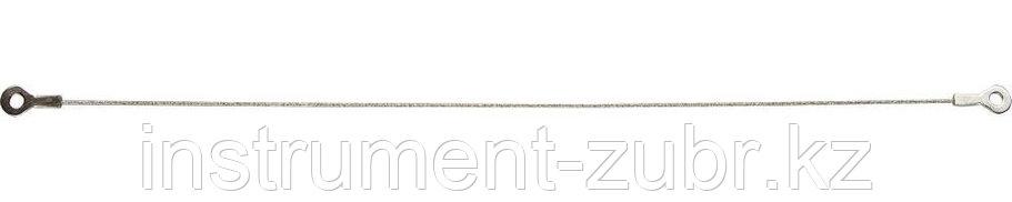 Струна ЗУБР с алмазным напылением, P 60, 300мм, фото 2