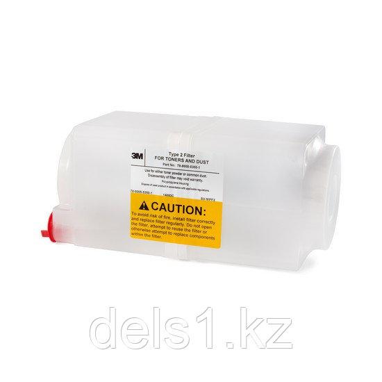 Фильтр для пылесоса, 3M, Тип 2, Для сбора пыли, цветного и чёрного тонера.