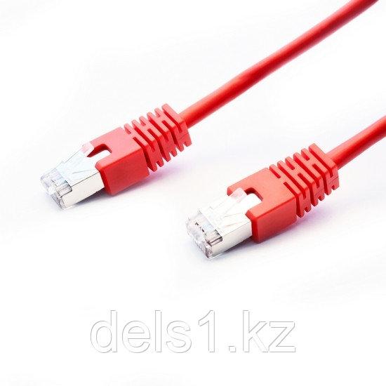 Патч Корд, SHIP, S7025RD0100-P, Cat.6, FTP, LSZH, RJ-45, 1 м, Красный, Экранированный, Пол. пакет