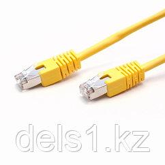 Патч Корд, SHIP, S7025YL0100-P, Cat.6, FTP, LSZH, RJ-45, 1 м, Жёлтый, Экранированный, Пол. пакет