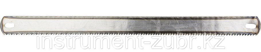 "Полотно STAYER ""MASTER"" для ножовки по дереву/металлу двухст, 25x300 мм, 24TPI/8TPI, 50 шт, фото 2"