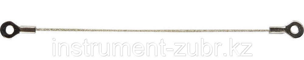 Струна ЗУБР с алмазным напылением, P 100, 150мм