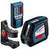 Линейный лазерный нивелир Bosch GLL 2-50 + BM1 + LR2