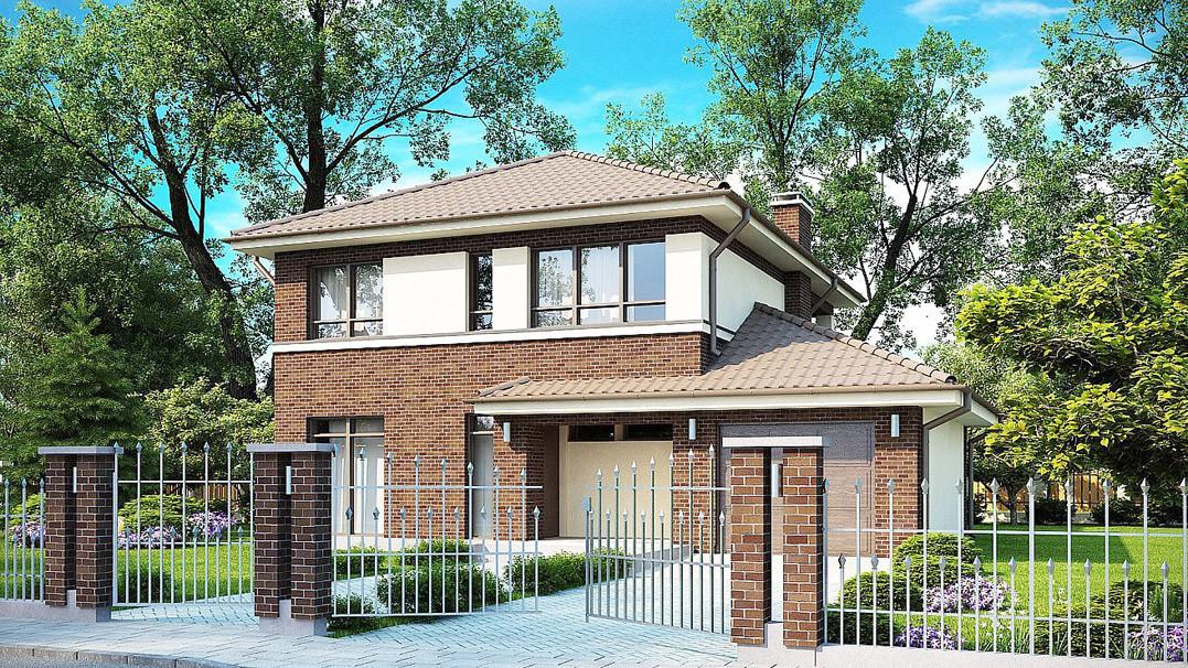 Строительство дома «под ключ» по проекту «Неос»