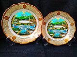 Сувенирные тарелки на тему Казахстан Алматы, фото 7