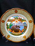 Сувенирные тарелки на тему Казахстан Алматы, фото 9