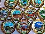 Сувенирные тарелки на тему Казахстан Алматы, фото 5