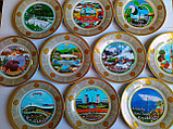 Сувенирные тарелки на тему Казахстан Алматы, фото 6