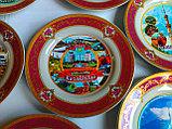 Сувенирные тарелки на тему Казахстан Алматы, фото 4