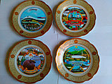 Сувенирные тарелки на тему Казахстан Алматы, фото 3