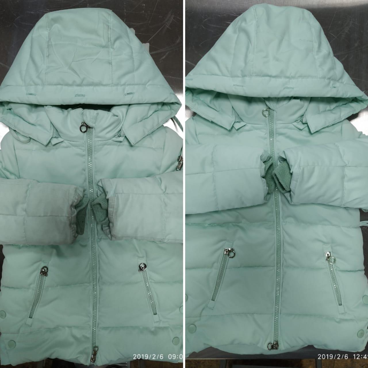 Стирка куртки