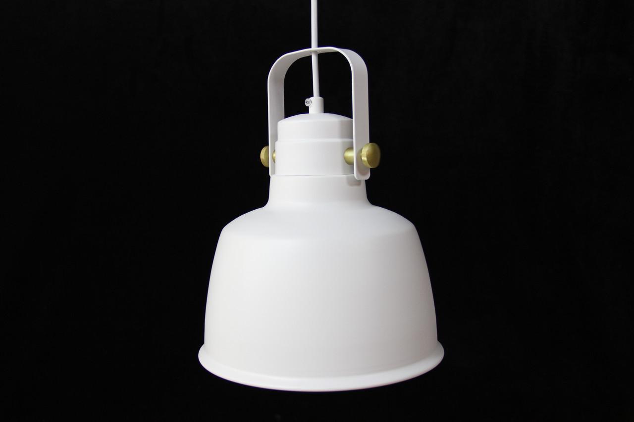 Светильник в стиле LOFT одноламповый белый