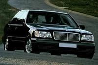 Прокат аренда авто Mercedes S500 W140