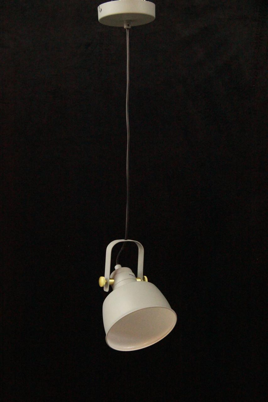 LOFT светильник белый одноламповый