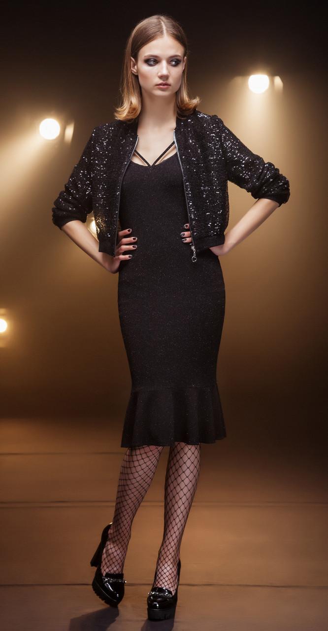 Платье Nova Line-5675, черный, 42