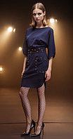 Платье Nova Line-5680, синий, 42