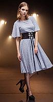 Платье Nova Line-5695, синий, 42