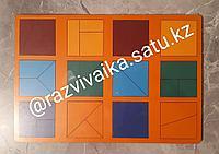 Сложи квадрат 1 (рамки и вкладыши, стандарт) на 2-4 года