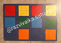Сложи квадрат 2 (рамки и вкладыши, стандарт) на 4-5 лет