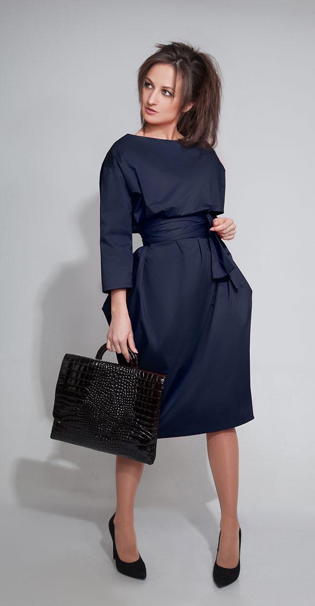 Платье ElPaiz-298/1, синий, 42